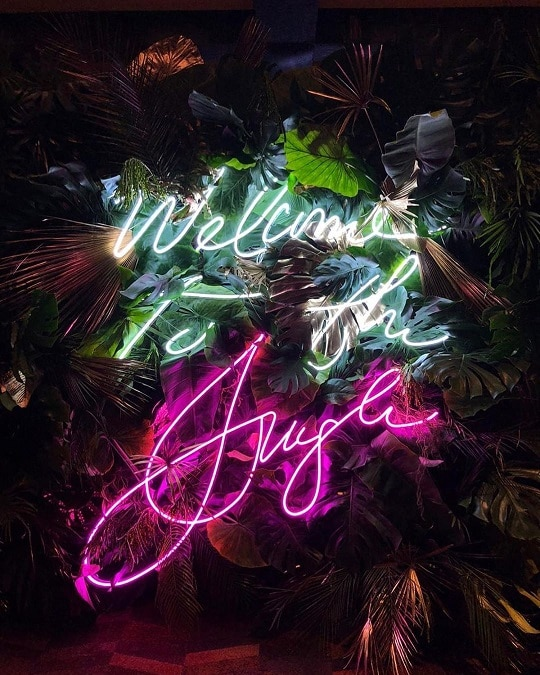 personalized neon sign for events, show and concert
