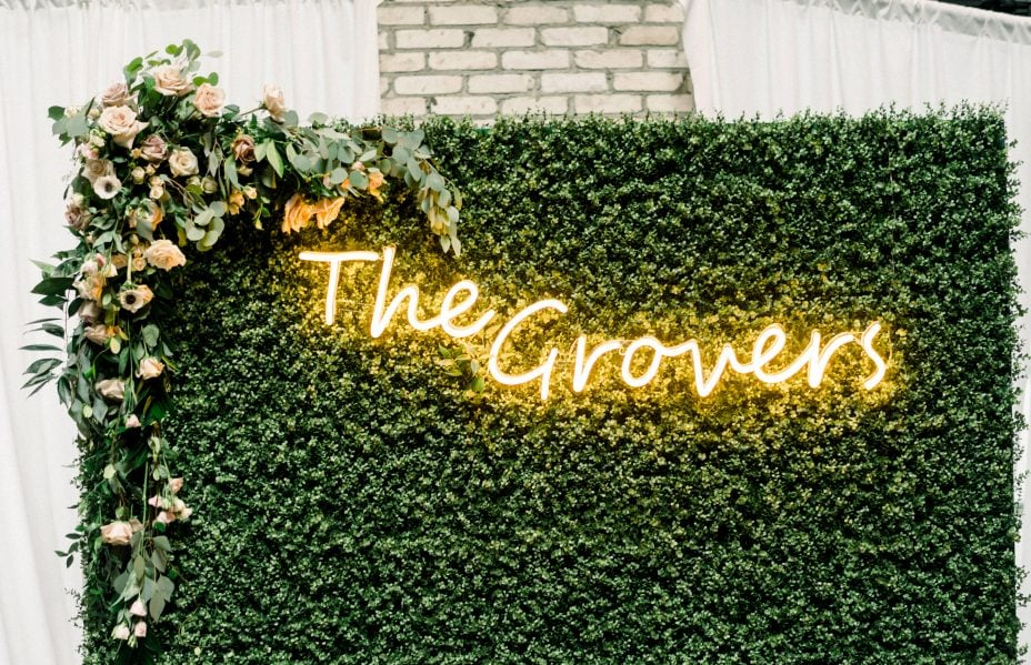 neon sign for wedding the best custom neon sign