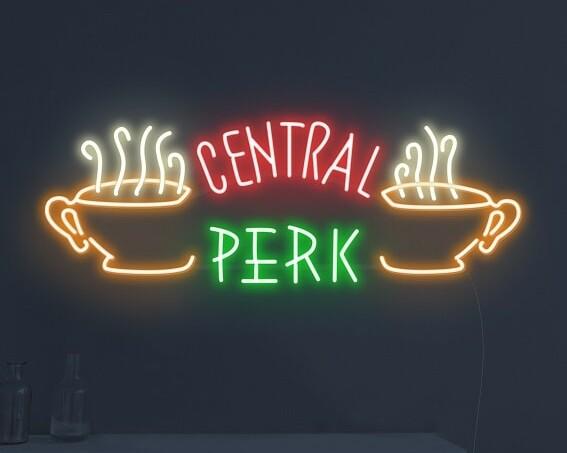 Central Perk Neon Sign