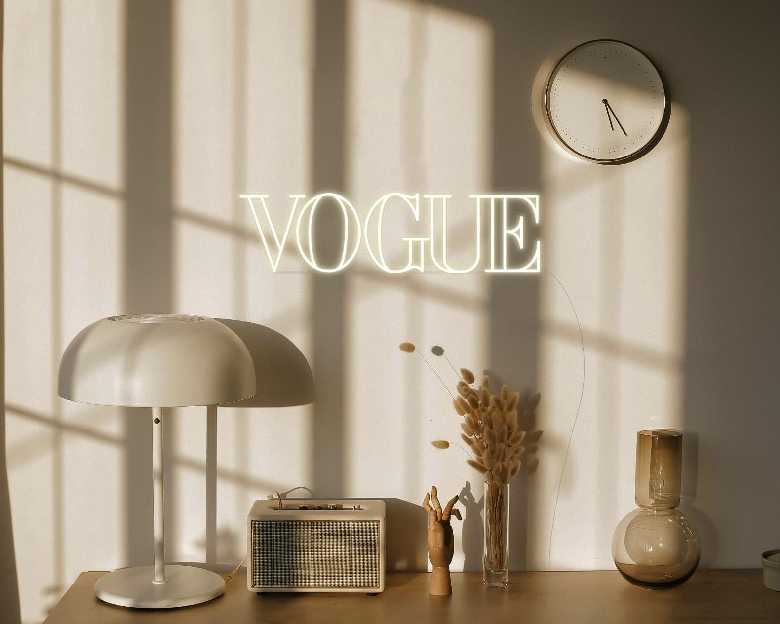 Vogue Neon Sign