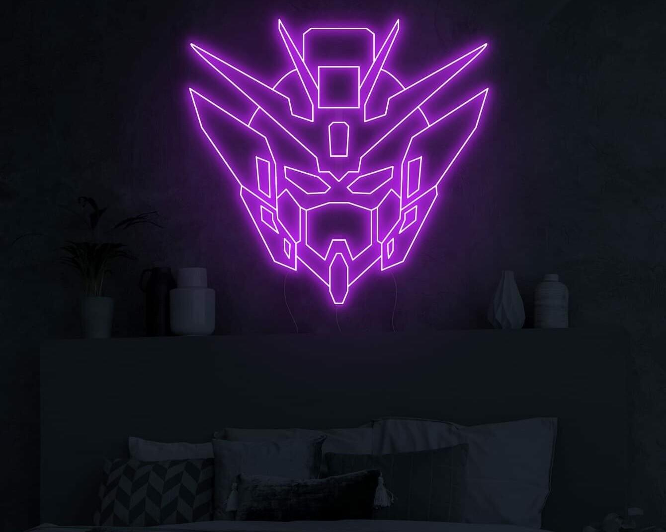 Gundam Neon Sign