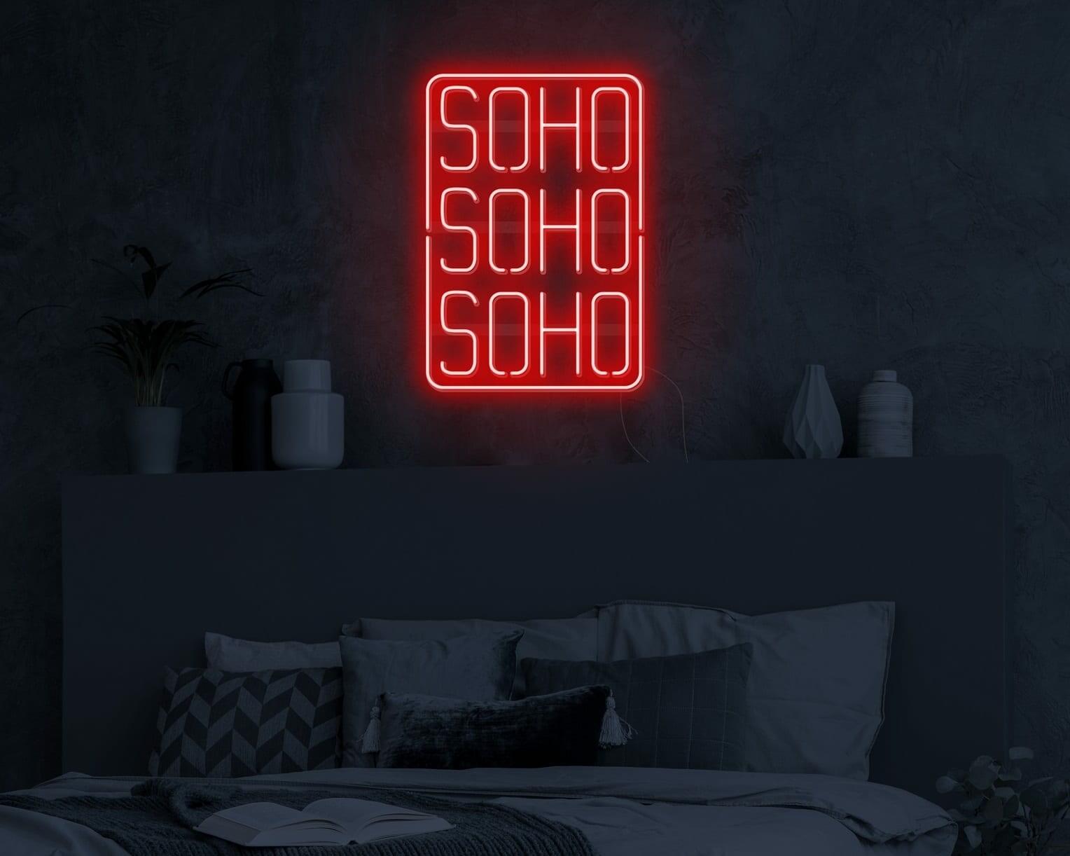 SOHO Neon Sign