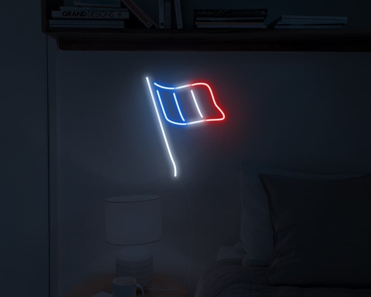 Flag of France Sign