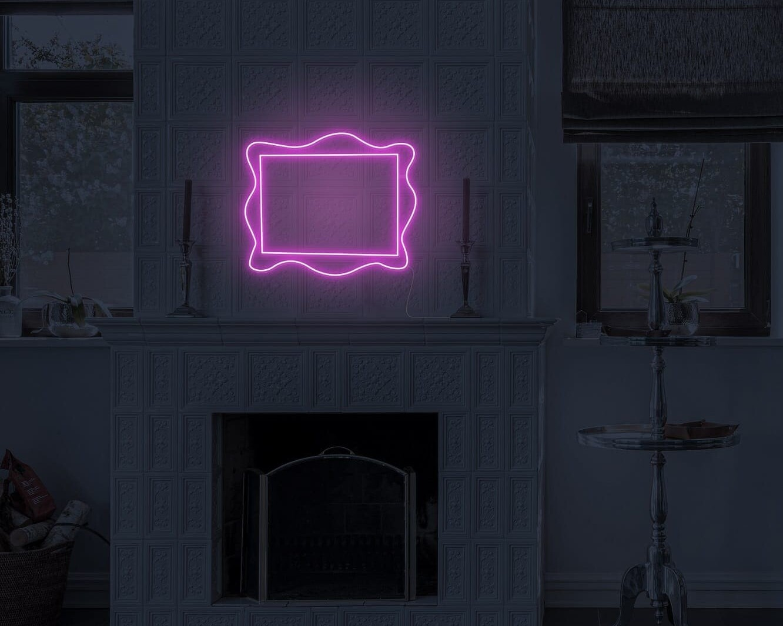 Pink Frame Neon Sign